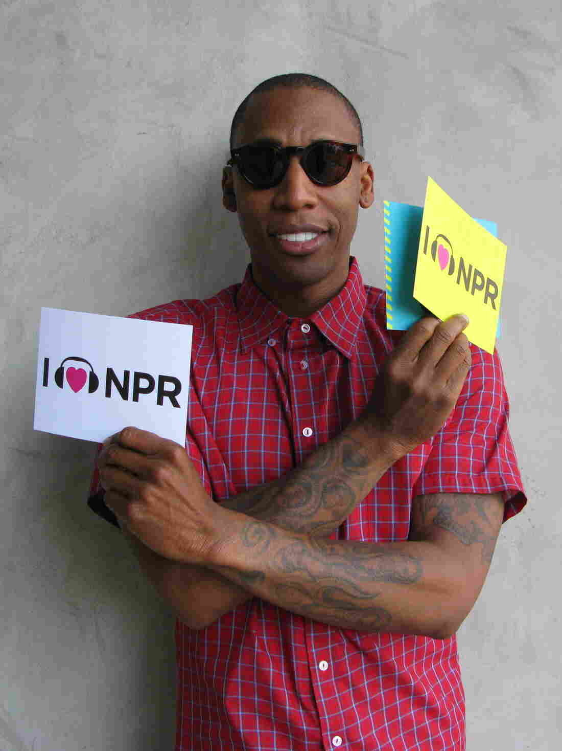 Musician Raphael Saadiq at NPR West for an interview in May 2011.