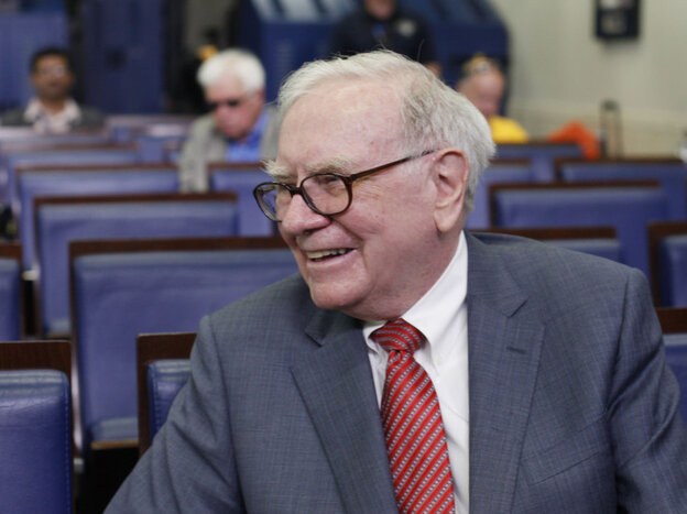 Warren Buffett, July 18, 2011.