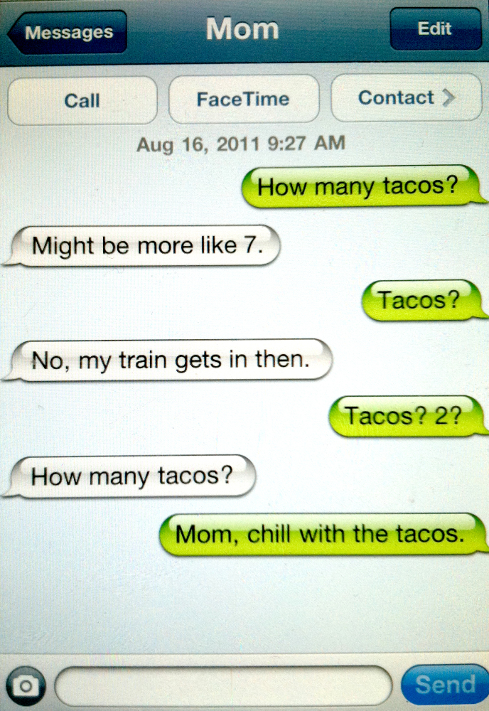 ... To Their Kids Text ... Funny Text Messages From Boyfriends To Parents
