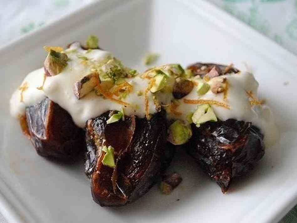 The most traditional way to break the fast during Ramadan is with a date — as the prophet Muhammad used to do. Learn more about the tradition of eating dates during Ramadan, and check out Yvonne Maffei's Dates with Cream recipe.