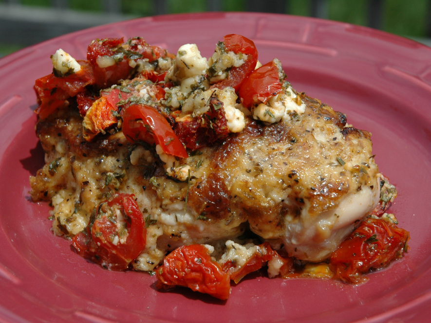 stuffed chicken breasts mediterranean galette mediterranean marinade ...