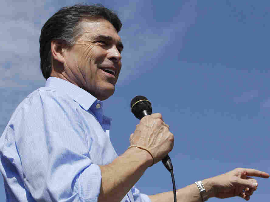 Texas Gov. Rick Perry, Aug. 15, 2011.