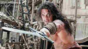 Jason Momoa stars as Conan in Conan The Barbarian.