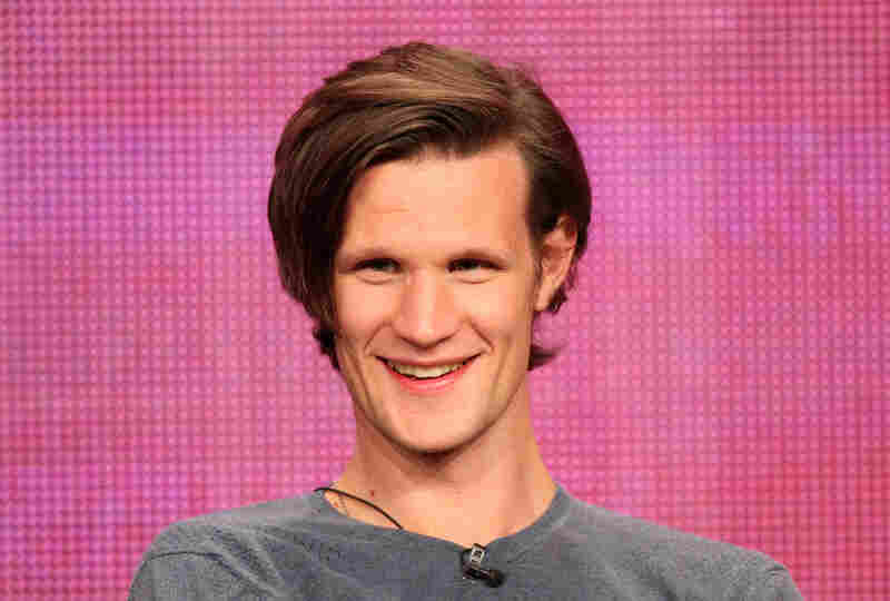 Matt Smith (that's Dr. Who to you) has what may very well be The Most Important Hair Of The Tour. If he changed it, you would have a Felicity situation on your hands, is what you would have.