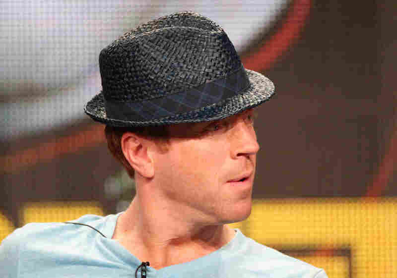 Damian Lewis is on Showtime's upcoming drama Homeland, which also stars Claire Danes. Here, he shows off the jaunty hat that makes any panel discussion more exciting.