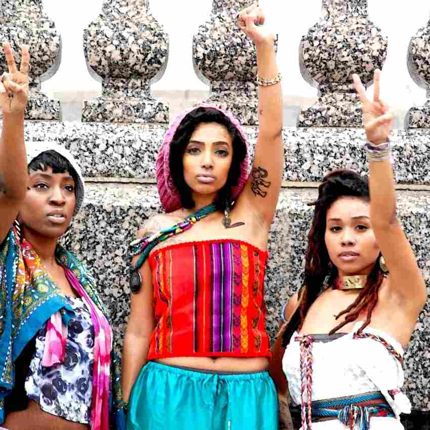 The Washington, D.C. based Goldin Girl Tribe, whose beats have been featured prominently by Latin alternative DJs Maracuyeah.
