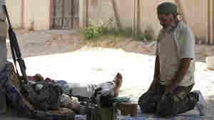 Fighting Drives Libyan Civilians Out Of Zawiya