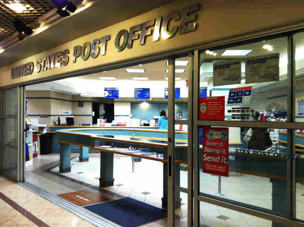 A post office in Washington, D.C., Thursday August 18, 2011.