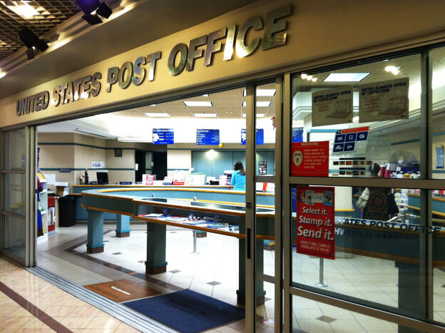 A post office in Washington, D.C., Thursday August 18, 2011.