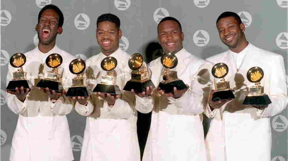 Boyz II Men in 1995.