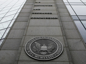 The Securities and Exchange Commission headquarters in Washington.