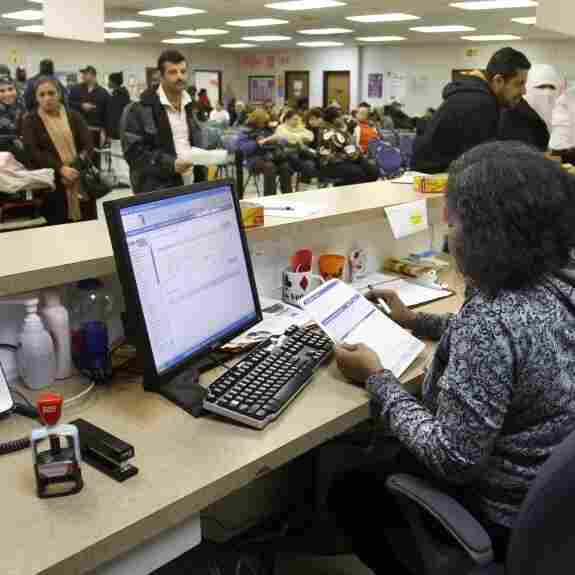 In Hard Times, Welfare Cases Drop In Some States