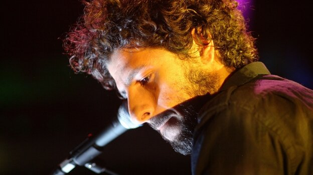Jose Gonzalez plays a set at the 2008 PLUG Independent Music Awards.