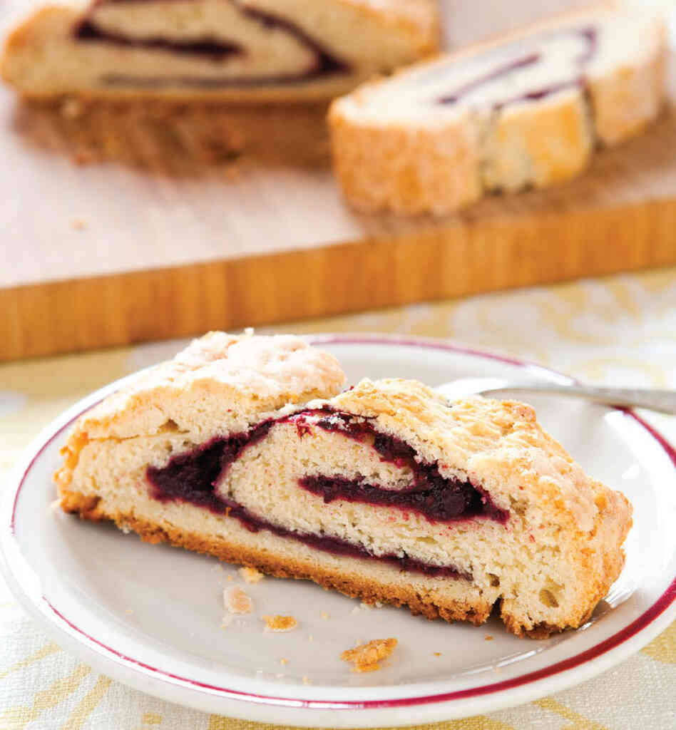Blackberry Roly-Poly With Sliced-Lemon Sauce Recipe — Dishmaps