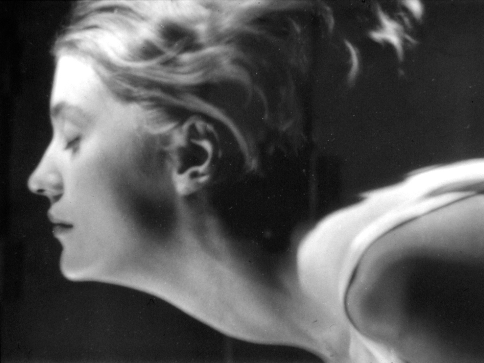 Man Ray <em>Portrait of Lee Miller - Flying Head,</em> c. 1930 Paris Vintage gelatin silver print (Lee Miller Archives)