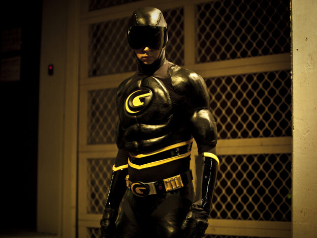 Ryan Kwanten plays Griff in Griff The Invisible, yet another independent film about an individual with a few screws loose who decides to don a costume and fight crime.