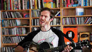 James Vincent McMarrow plays a Tiny Desk Concert at the NPR Music offices on June 9, 2011.