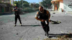 Libyan Rebels Celebrate Takeover Of Another Key City
