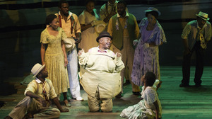 David Alan Grier plays the drug dealer Sportin' Life in Porgy and Bess.