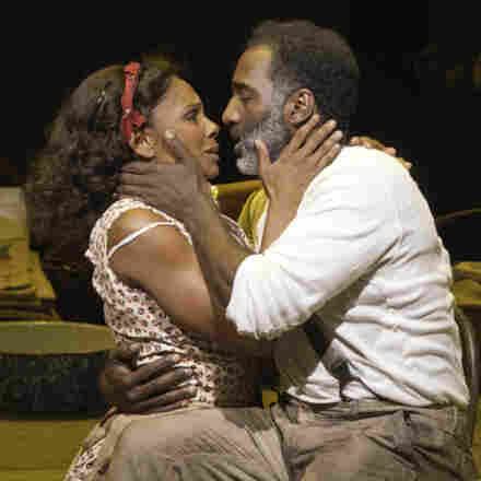 Audra McDonald (left) and Norm Lewis play the title characters in a new and controversial take on Porgy and Bess.