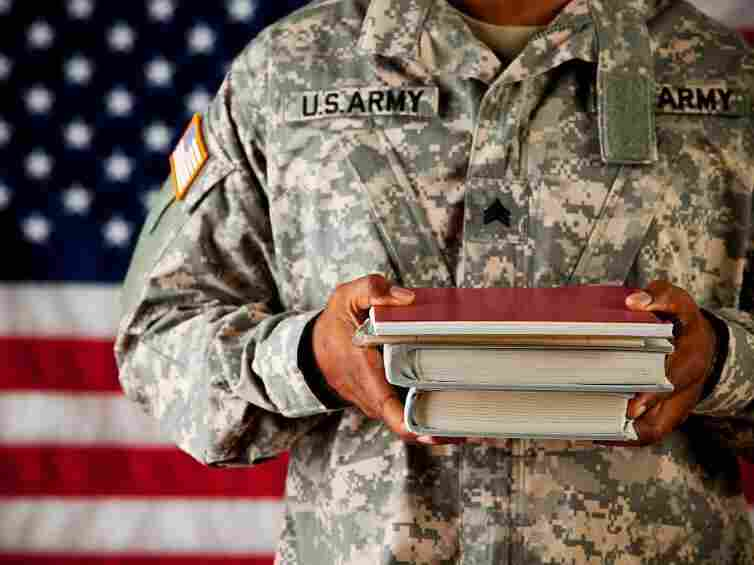 Many veterans served their country as a way to afford college but a study shows that these students may be suffering silently.