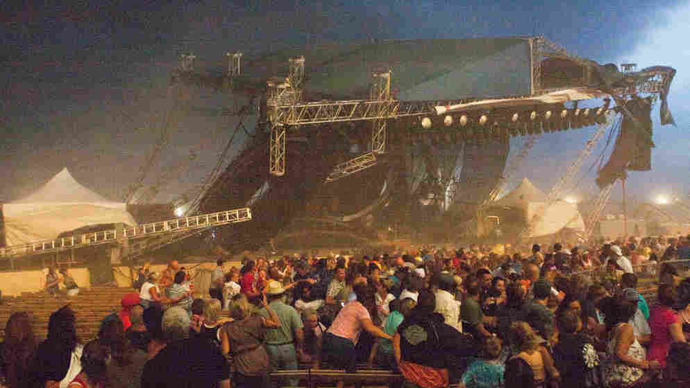 Aug. 13, 2011: A stage collapses at the Indiana State Fair in Indianapolis. Six people have died from the injuries they received.