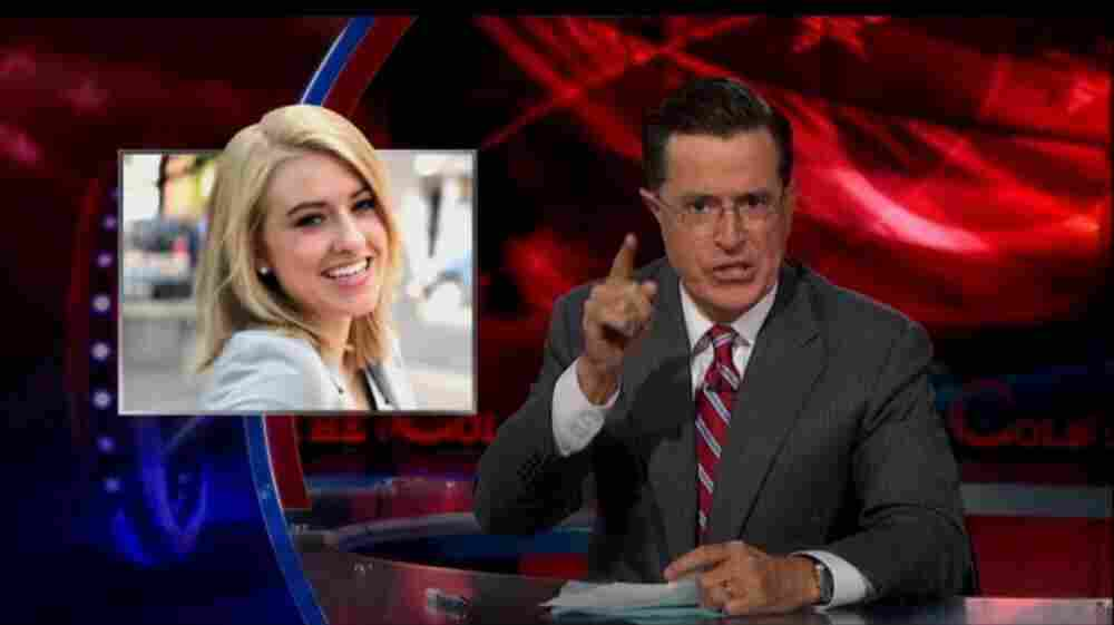 Katie Eastman's first appearance on The Colbert Report wasn't her last.