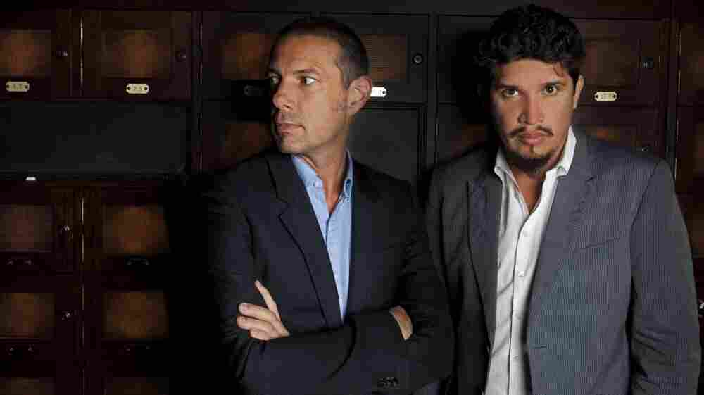 Eric Hilton and Rob Garza have been recording and performing as Thievery Corporation since the mid-1990s. Their newest album is called Culture of Fear.