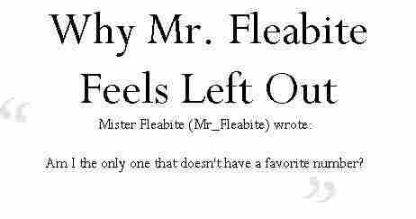11 fleabite