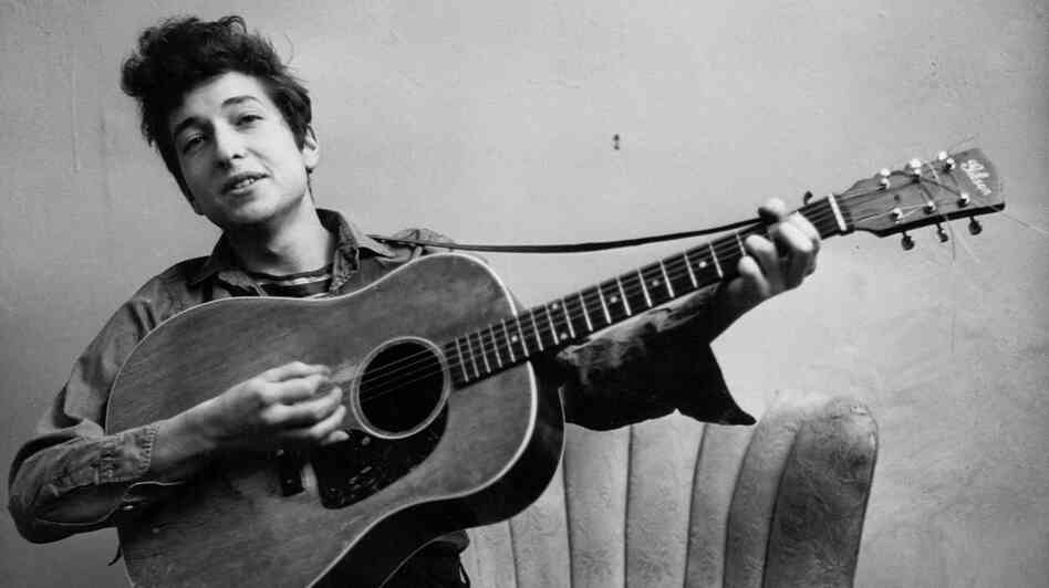 "Bob Dylan is one of the artists featured in Tom Piazza's collection of essays, ""Devil Sent the Rain."" Piazza says Dylan's way of pushing boundaries ""is a very American thing."""