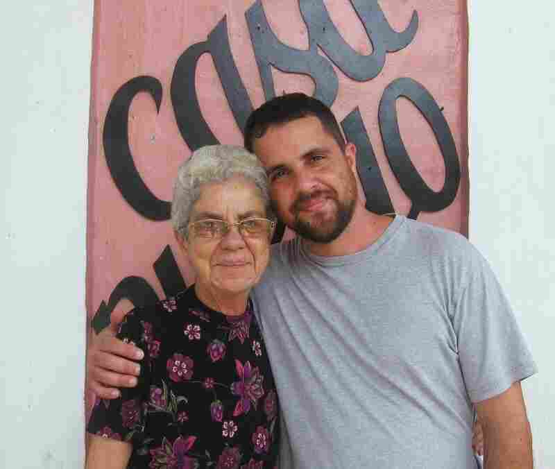 Arturo Massol and his mother Tinti, 70, started Casa Pueblo about 30 years ago to fight silver and copper mining in Adjuntas.