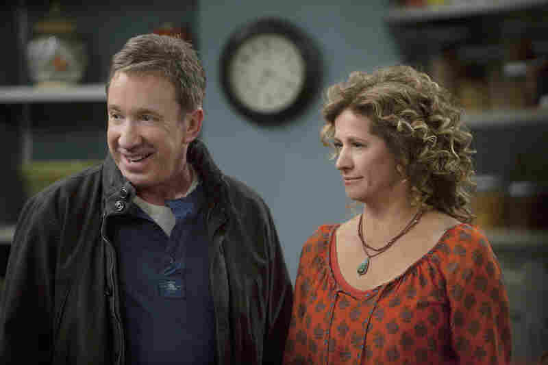 """If there's anyone who is trying to precisely duplicate past success, it's Tim Allen, whose role as a beleaguered """"man's man"""" on ABC's Last Man Standing looks an awful lot like his role as Tim Taylor on the network's Home Improvement. Playing his wife: TV veteran Nancy Travis."""