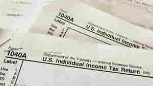 Income tax forms.