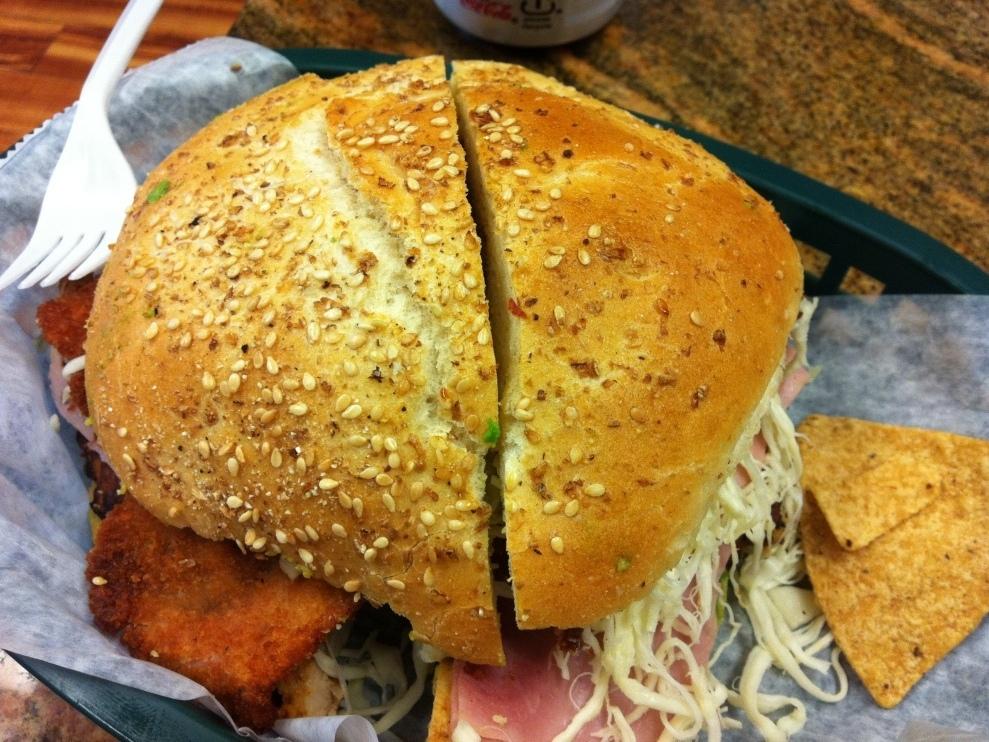 Sandwich Monday: Cemitas Atomica : Wait Wait ... Don't ...