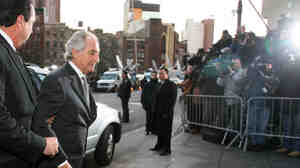 The Money Man: Bernard Madoff arrives at federal court in New York on Thursday, March 12, 2009 in this Associated Press photo. But the road that led to his capture was long and troubled, mostly due to the lack of cooperation from the U.S. Securities & Exchange Commission and the Wall Street Journal.