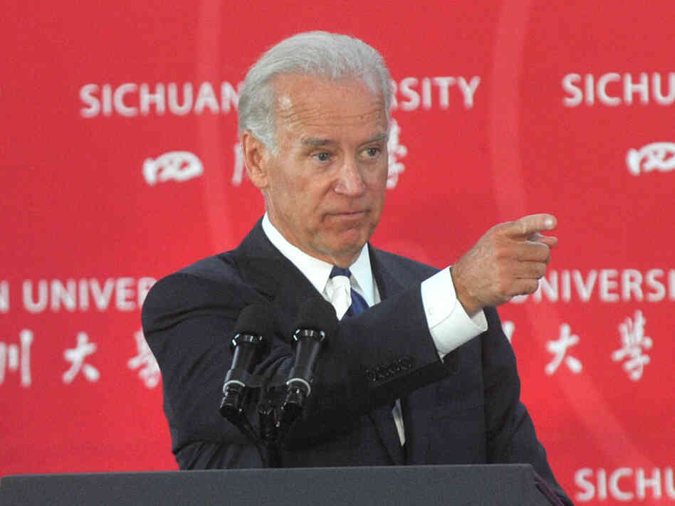 Vice President Biden at Sichuan University in Chengdu, China, August 21, 2011.