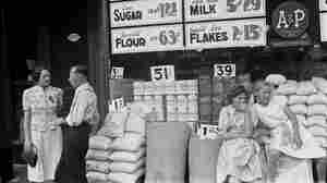 In 1938, A&P had more than 13,000 stores from coast to  coast, like this one in Somerset, Ohio. Over the next four years, the company's transition to a new supermarket format would cut that store count in half.