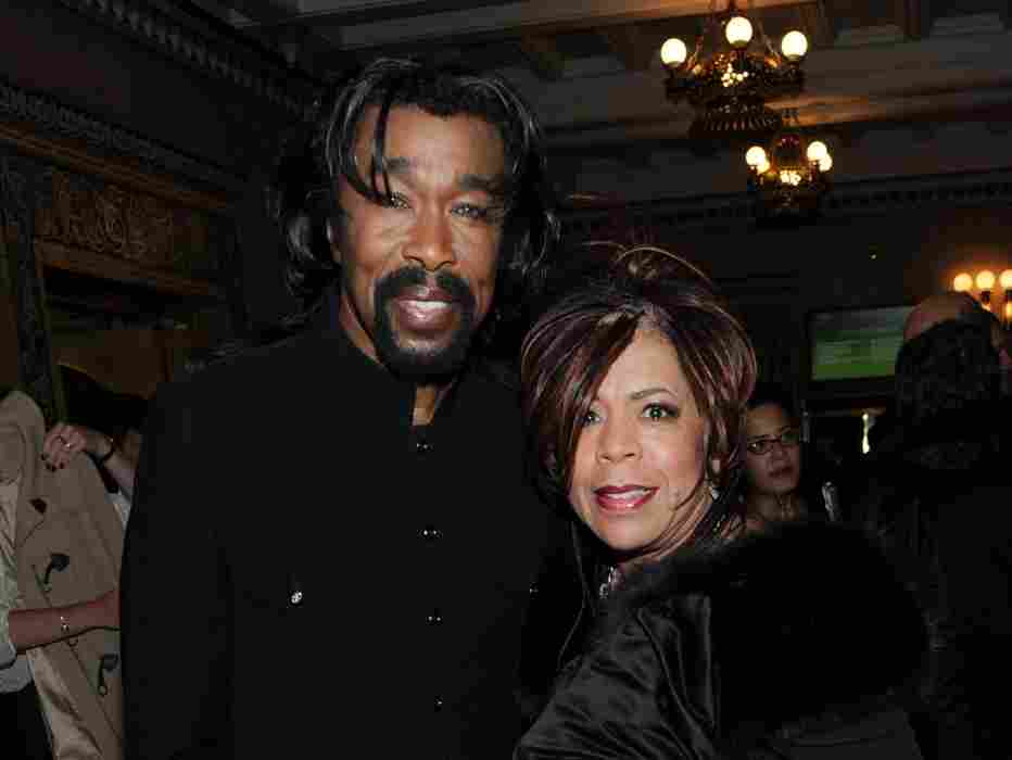 Recording artists  Nick Ashford and Valerie  Simpson  attend the Alvin Ailey Opening Night Gala Performance at the New York  City Center in 2009. Ashford died from throat cancer Monday. He was 70 years old.
