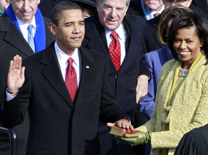 Barack Obama was sworn in as the 44th president of the United   States on Jan. 20, 2009.