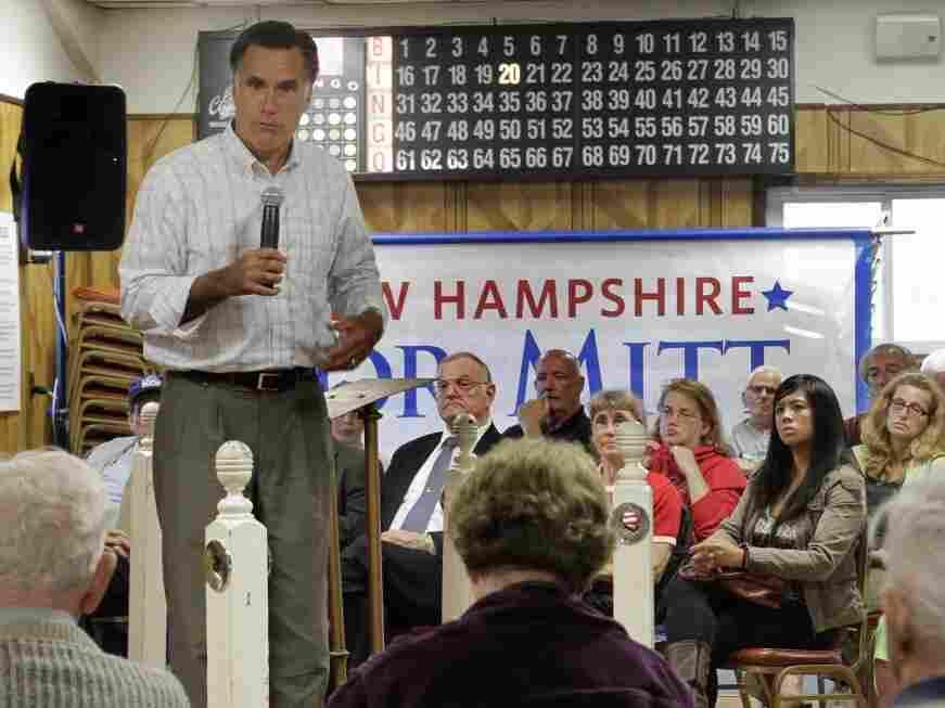 Mitt Romney in Berlin, NH, Aug. 16, 2011.