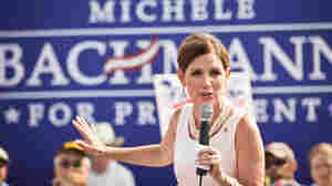 GOP presidential hopeful Rep. Michele Bachmann speaks at a rally on August 19, 2011 in Mt Pleasant, South Carolina.