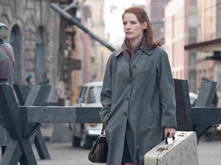 Jessica Chastain plays an Israeli secret agent who lures in a Nazi war criminal in director John Madden's film The Debt.