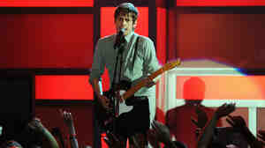 All These Kids: Mark Foster of Foster the People onstage during the 2011 VH1 Do Something Awards on August 14, 2011 in Hollywood, California.