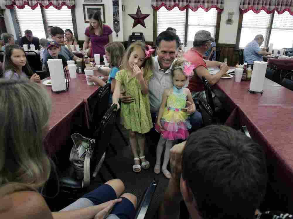 Mitt Romney at Farm Boys restaurant in Chapin, SC, May, 21, 2011.