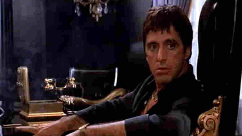 "In the 1983 gangster film Scarface, Al Pacino gave a ""performance the size of a Caribbean cruise ship,"" says critic John Powers."