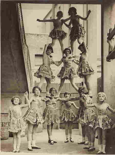 Good production support is like the third girl from the left at the bottom of this human pyramid: rock-solid, handled with aplomb and grace (Look at her feet!)