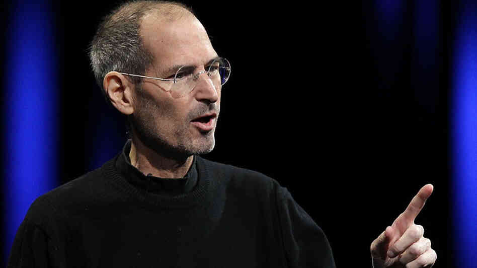 Apple CEO Steve Jobs delivers the keynote address at the Apple World Wide Developers Conference in June. Jobs announced Wednesday that he would step down immediately as CEO of Apple.