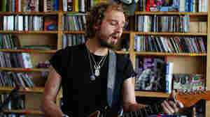 Matthew Houck of Phosphorescent performs a Tiny Desk Concert at the NPR Music offices.