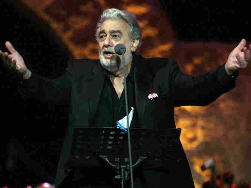 Placido Domingo in a more familiar role: performing at Zouk Michael, north of Beirut, Lebanon July 17, 2011.
