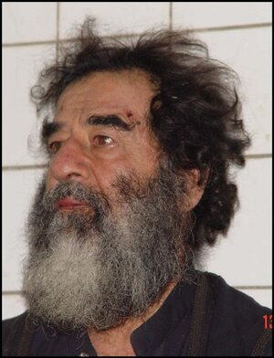Iraq's Saddam Hussein went into hiding as his regime faltered in 2003. He was found later in a spider hole, put on trial and then and executed in 2006.